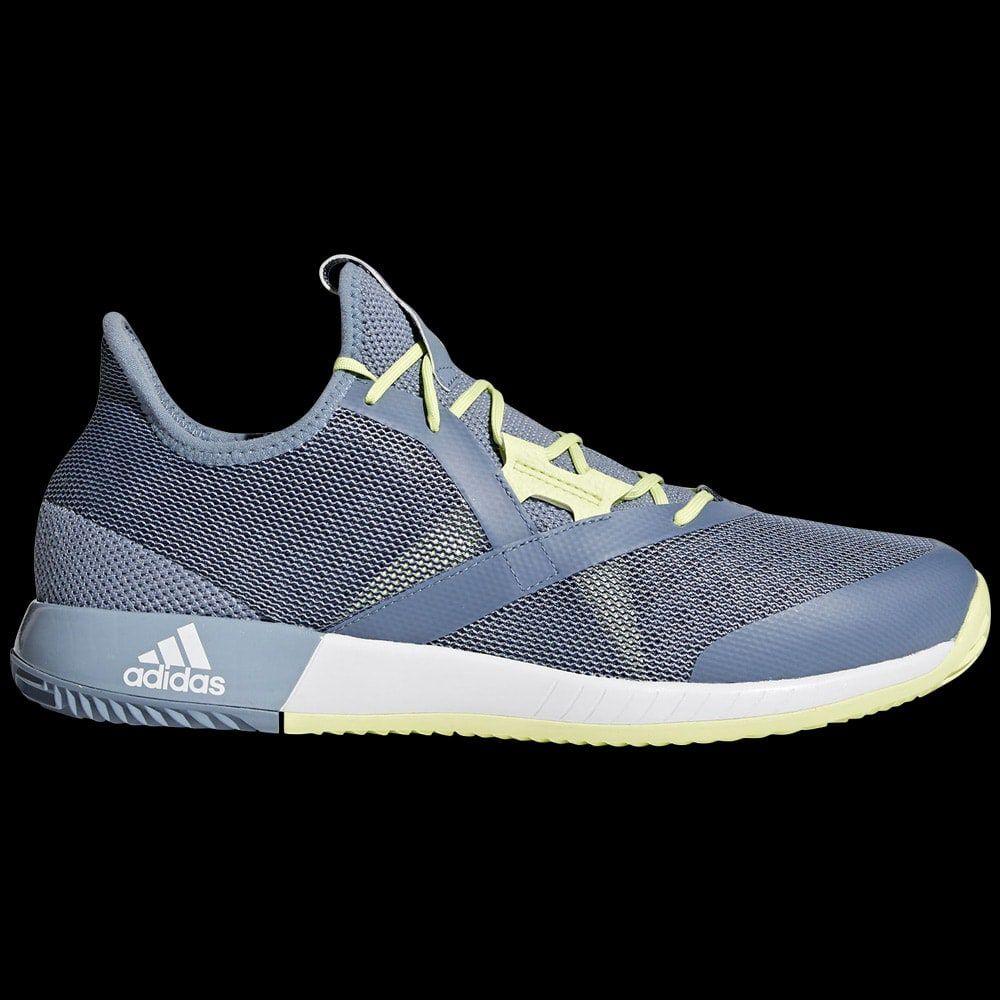 chaussures homme adidas adizero defiant bounce gris jaune