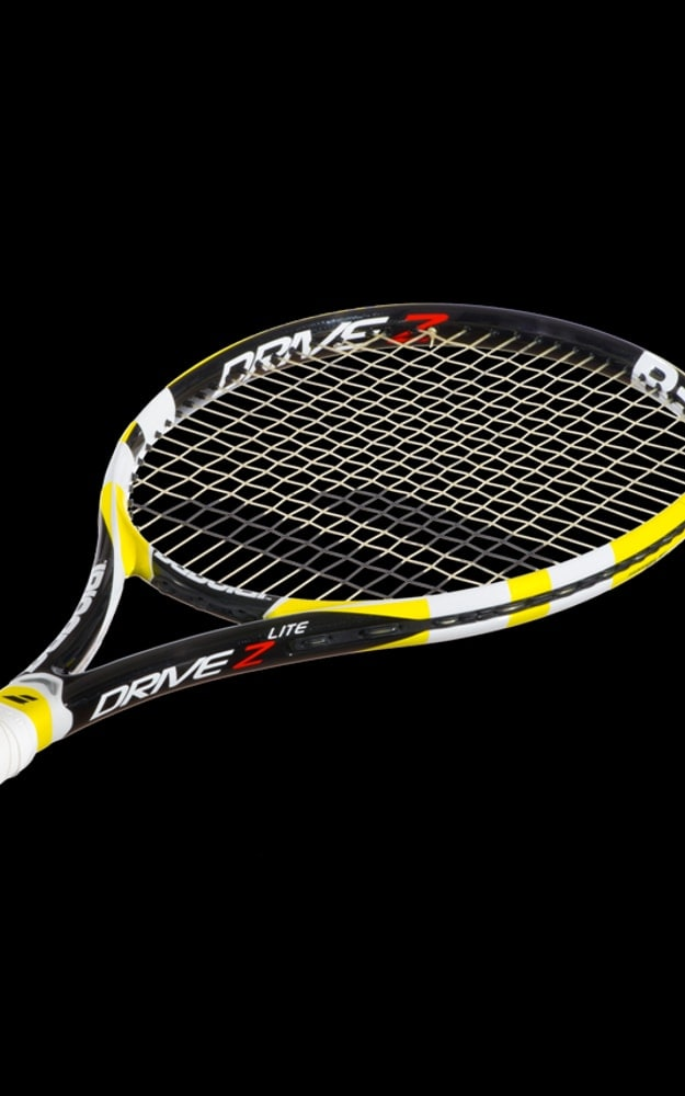 babolat drive z lite 2013 jaune n tennis. Black Bedroom Furniture Sets. Home Design Ideas