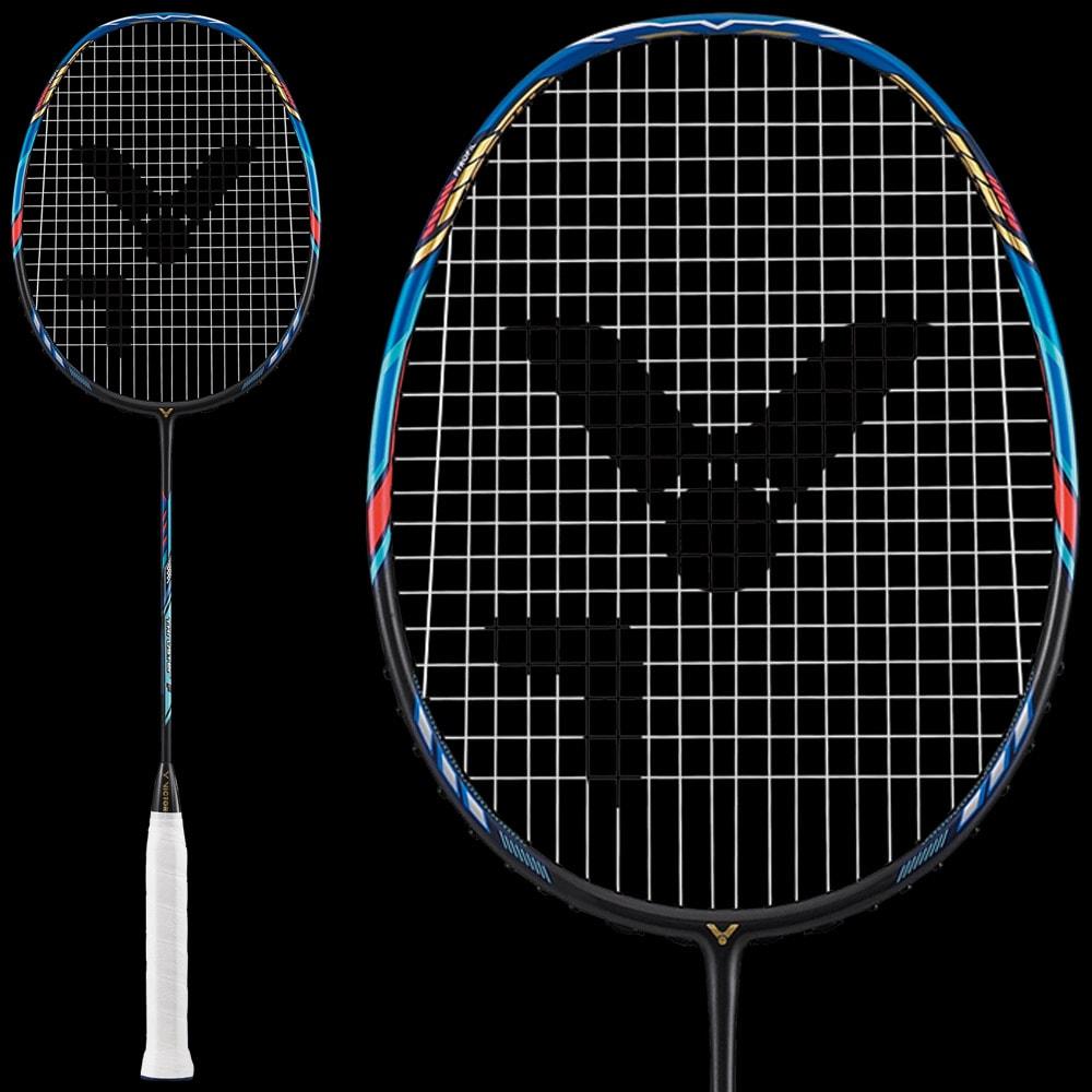 Wilson Raquettes De Badminton Hyper Rouge 4 x Housses 4 Volants
