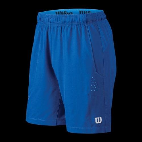 short wilson perf woven men bleu n tennis. Black Bedroom Furniture Sets. Home Design Ideas